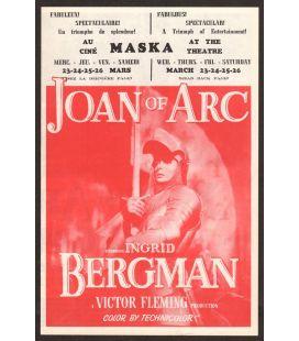 Jeanne d'Arc - Ancienne dépliant publicitaire
