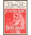Joan of Arc - Vintage Original Flyer