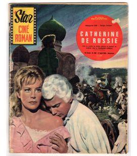 Catherine de Russie : Star ciné roman N°160 - Août 1963 - Ancien magazine français