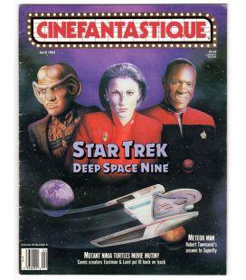 Cinefantastique - Avril 1993 - Magazine américain avec Star Trek Deep Space Nine