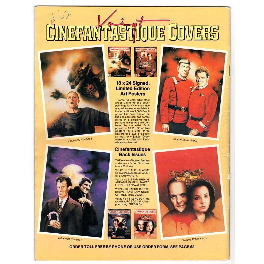 Cinefantastique Magazine 1981 Dick Smith Altering States