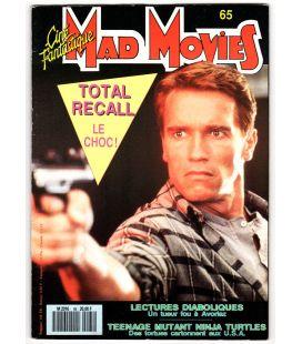 Mad Movies Magazine N°65 - Mai 1990 - French magazine with Arnold Schwarzenegger