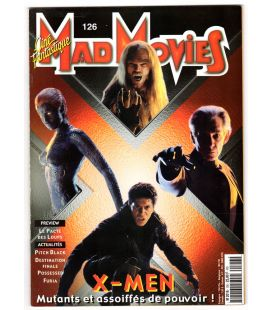 Mad Movies Magazine N°126 - July 2000 - French magazine with X-Men