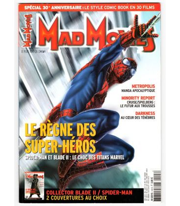Mad Movies Magazine N°143 - June 2002 - French magazine with Spider-Man