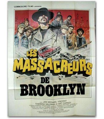 """Les Massacreurs de Brooklyn - 47"""" x 63"""""""