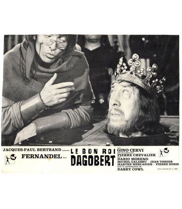 "Le bon roi Dagobert - Vintage Photo 10"" x 8"" with Fernandel"