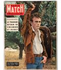 Paris Match Magazine N°416 - March 30, 1957 with James Dean