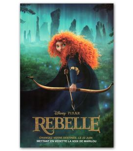 "Brave - 11"" x 17"" - Original French Canadian Poster"