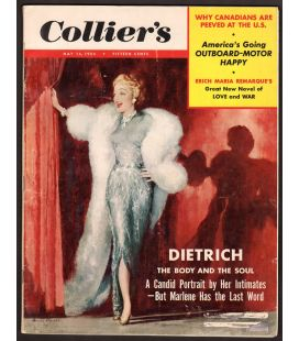 Collier's - May 14, 1954 with Marlene Dietrich