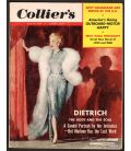 Collier's - 14 mai 1954 - Magazine américain avec Marlene Dietrich