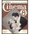 Le Courrier du Cinema magazine - August 1937 with Jacqueline Francel