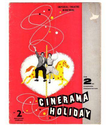 Cinerama Holiday - Ancien programme souvenir