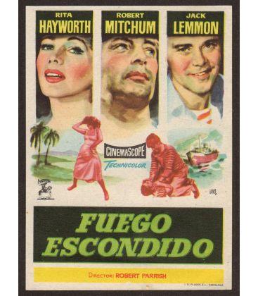L'Enfer des tropiques - Ancienne petite publicité en espagnol