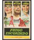 Fire Down Below - Vintage Original Spanish Herald