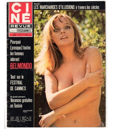 Ciné Revue Magazine N°21 - May 27, 1971 - French Magazine with Laura Antonelli