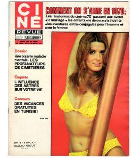 Ciné Revue Magazine N°30 - July 23, 1970 - French Magazine