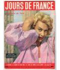 Jours de France Magazine N°109 - December 15, 1956 with Martine Carol