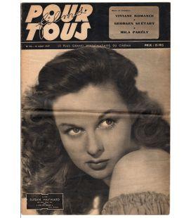 Films pour tous N°70 - 12 août 1947 - Journal français avec Susan Hayward