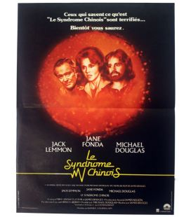 "The China Syndrome - 16"" x 21"" - Vintage Original French Poster"