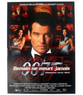 "Tomorrow Never Dies - 16"" x 21"" - Original French Poster"