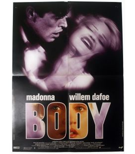 "Body of Evidence - 24"" x 32"" - Original French Poster"