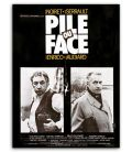 "Pile ou face - 47"" x 63"" - Vintage Original French Poster"