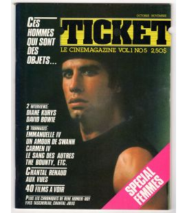 Ticket Magazine - October 1983 with John Travolta