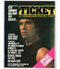 Ticket Magazine - Vintage October 1983 issue with John Travolta