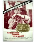 """La Poussière, la sueur et la poudre - 47"""" x 63"""""""