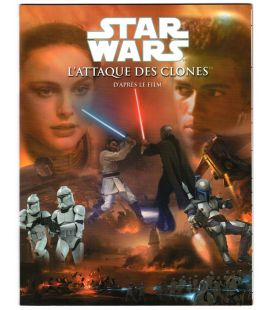 Star Wars: Episode II - Attack of the Clones - Book d'après le film