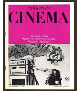 Cahiers du cinéma N°190 - Mai 1967 - Magazine français avec Juliet Berto