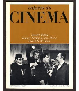 Cahiers du cinema Magazine N°193 - September 1967 with Jerry Lewis