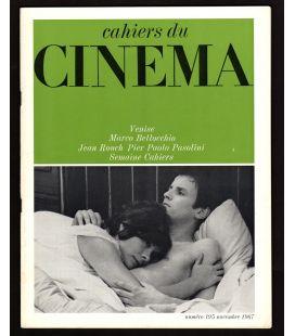 Cahiers du cinema Magazine N°195 - November 1967 with Jacques Perrin