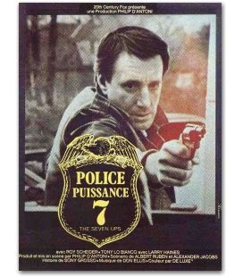 """Police puissance 7 - 47"""" x 63"""""""