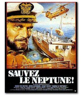 """Sauvez le Neptune - 16"""" x 21"""" - Affiche originale française"""