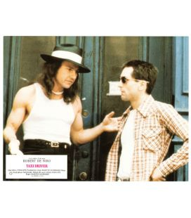 "Taxi Driver - Vintage Photo 10.5"" x 8.8"" with Harvey Keitel"