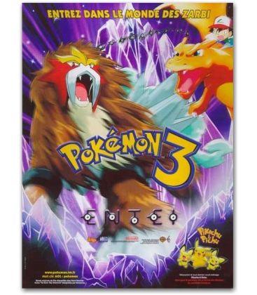 "Pokemon 3 - 47"" x 63"""