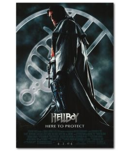 """Hellboy - 27"""" x 40"""" - Affiche originale américaine"""