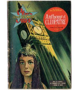 Anthony et Cléopâtre : Star ciné cosmos N°41 - Avril 1963 - Ancien magazine français