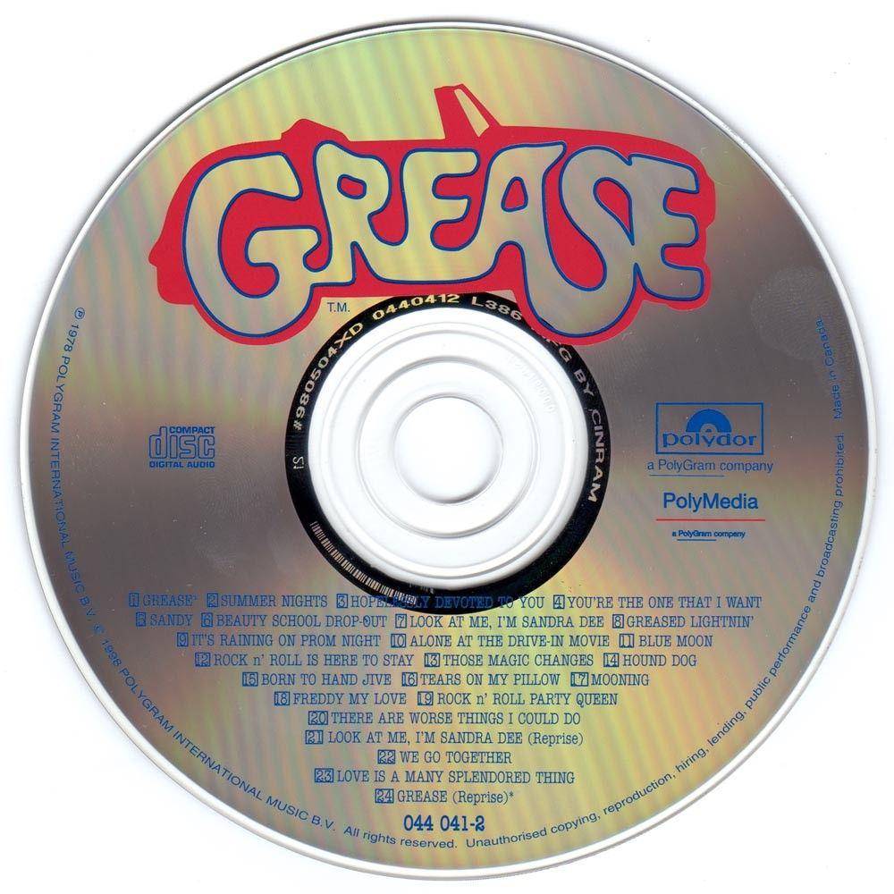 Movie grease soundtrack