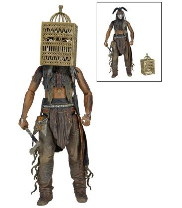 The Lone Ranger - Tonto Action Figure 7""