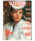 Vidéo News N°9 - Mars 1982 - Magazine français avec Gene Tierney