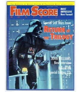 Film Score Monthly - Janvier 1997 - Magazine américain avec Star Wars