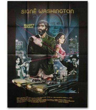 """Signé Washington - 47"""" x 63"""""""