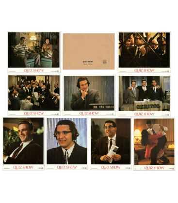 Quiz Show - Set of 9 Original French Lobby Card