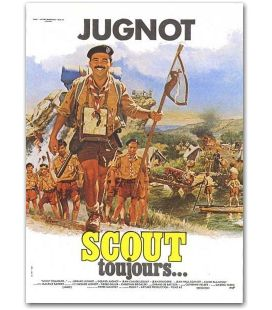 "Scout toujours - 47"" x 63"""