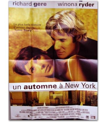 "Autumn in New York - 47"" x 63"""