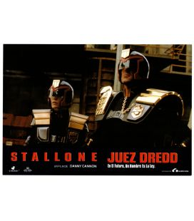 "Judge Dredd - Originale Photo 13"" x 9"" with Sylvester Stallone and Diane Lane"