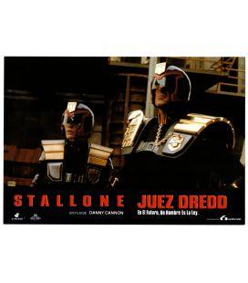 "Juge Dredd - Photo originale 13"" x 9"" avec Sylvester Stallone"