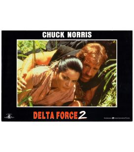 "Delta Force 2 - Photo originale 13"" x 9"" avec Chuck Norris"